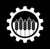 Industrial and agricultural icon — Stock Vector