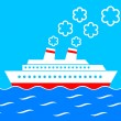 Stock Vector: Ship clipart