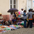 African street market. — Stock Photo