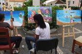 Painters — Stock Photo
