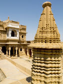 Jain temple of Loudvra — Stock Photo