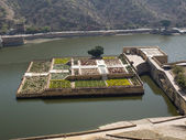 Mughal gardens — Stock Photo