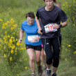 Stock Photo: Female runners