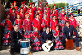 Andalusian folk group. — Stock Photo