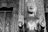 Statue eines buddhistischen tempels. — Stockfoto