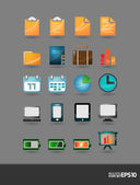 Realistic high quality vector icons   editable   layered — Stock Vector