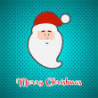 Royalty-Free Stock Векторное изображение: Christmas background with Santa Claus