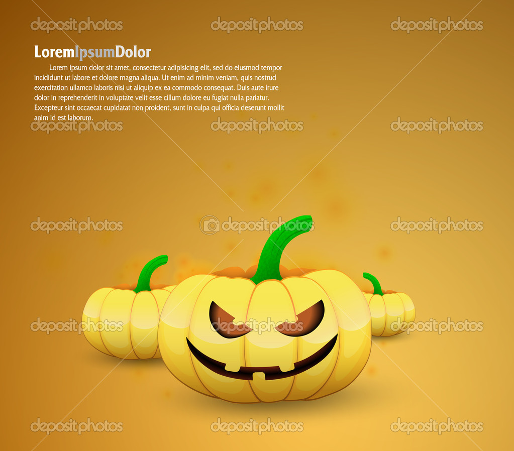 Halloween cartoons background | editable vector illustration — Stock Vector #13637856