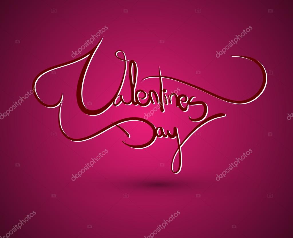 Greeting card for Valentine's Day — Stock Vector #18331235