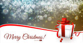 Christmas Card Vector Illustration Layered EPS10 — Stock Vector