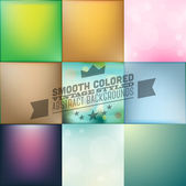 Smooth Colored Style Background — Stock Vector
