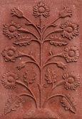 Flower relief — Stock Photo