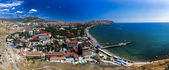Sudak in Crimea, Ukraine — Stock Photo