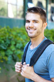 Portrait of a college student — Stockfoto
