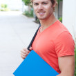 Royalty-Free Stock Photo: Portrait of a college student