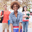 Happy group of college students — Stock Photo #13486068