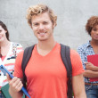 Happy group of college students — Stock Photo #13486159