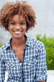 Pretty african american college student — Stock Photo