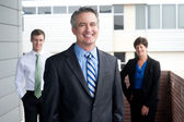 Portrait of a confident mature businessman — Stock Photo