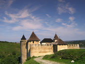 Old fortress in Khotyn, Ukraine — Stock Photo