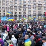 Protests in Kyiv, Ukraine — Stock Photo