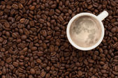 Moon coffee — Stock Photo