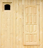Rural house wall under construction — Stock Photo