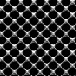 Steel grid with round holes seamless background — Stock Photo