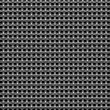 Braided wire steel grid seamless background — Stockfoto