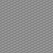 Metallic diamond flooring seamless background - Stock Photo