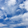 图库照片: Blue sky with clouds