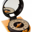 Tourist compass with mirror — Stock Photo #30871241