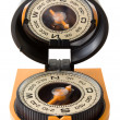 Plastic tourist compass with mirror — Stock Photo #30871417