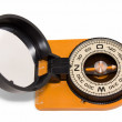 Tourist compass with mirror — Stock Photo #31513877