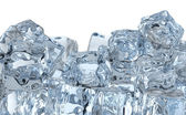 Heap of ice cubes — Stockfoto