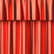 Stock Photo: Red curtain seamless background