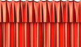 Red silk curtain seamless background — 图库照片