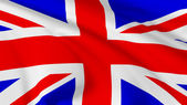 Flag of United Kingdom of Great Britain — Stock Photo