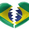 The Brazilian flag — Stock Photo #14959427