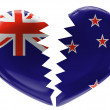 Stock Photo: The New Zealand flag