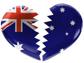 The Australian flag — Foto de Stock