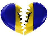 Barbados flag — Stock Photo