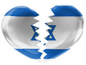 The Israeli flag — Stockfoto
