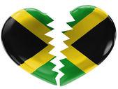 Jamaica flagga — Stockfoto