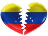 Venezuelas flagga — Stockfoto