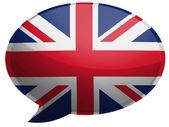 The British flag — Stock Photo
