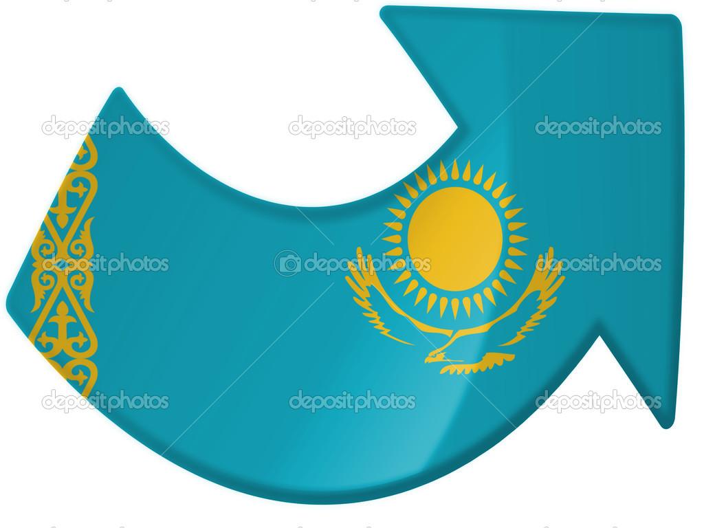 哈萨克斯坦国旗 哈萨克斯坦国旗好看的 哈萨克斯坦国旗国徽