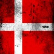 The Danish flag - Stock Photo