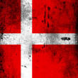 Royalty-Free Stock Photo: The Danish flag