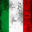 The Italian flag - Stock Photo